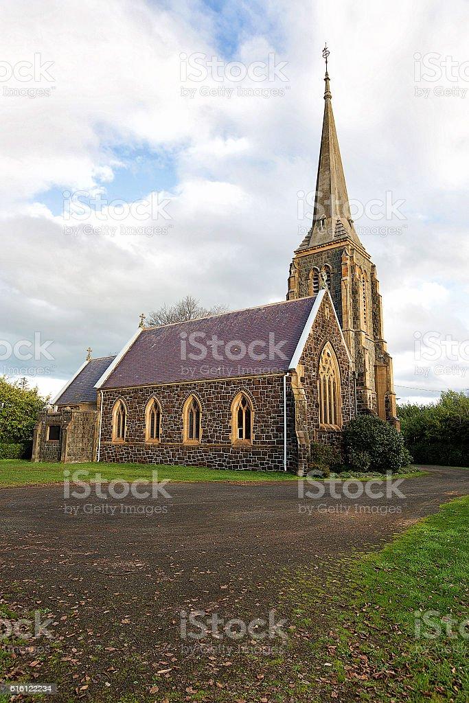 St Marys Anglican Church, Hagley stock photo