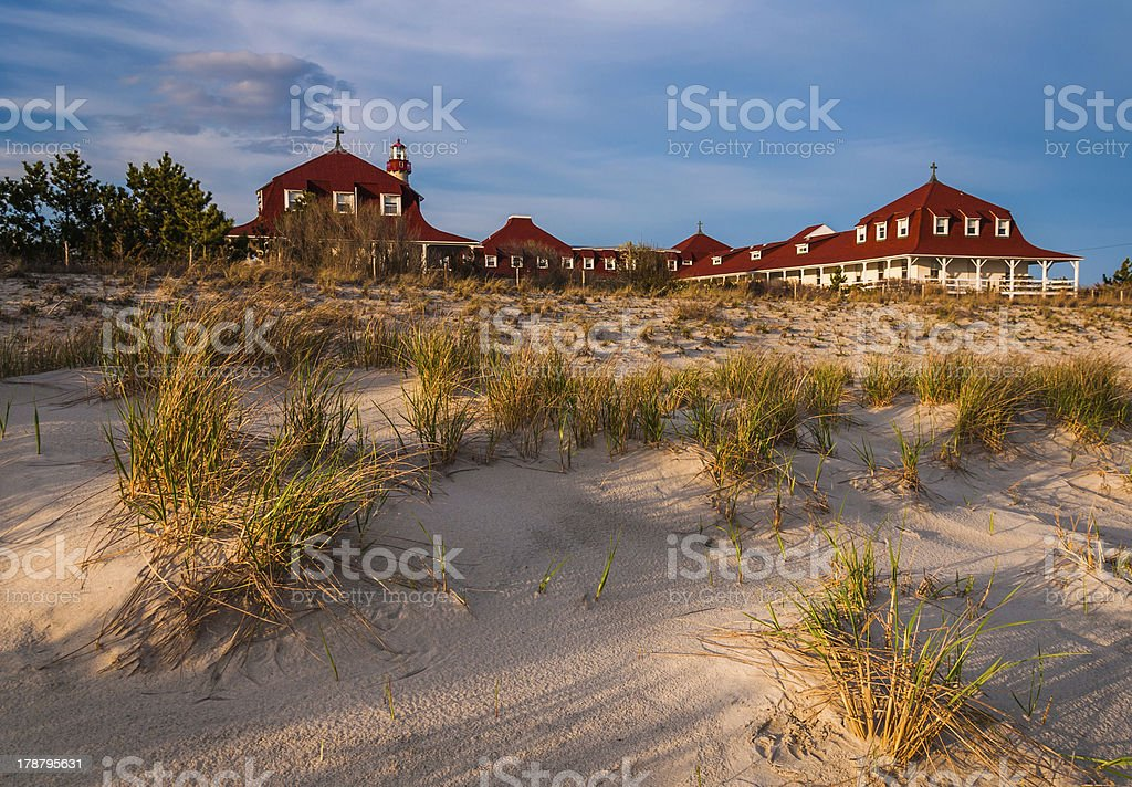 St. Mary's by The Sea, in Cape May Point, NJ stock photo