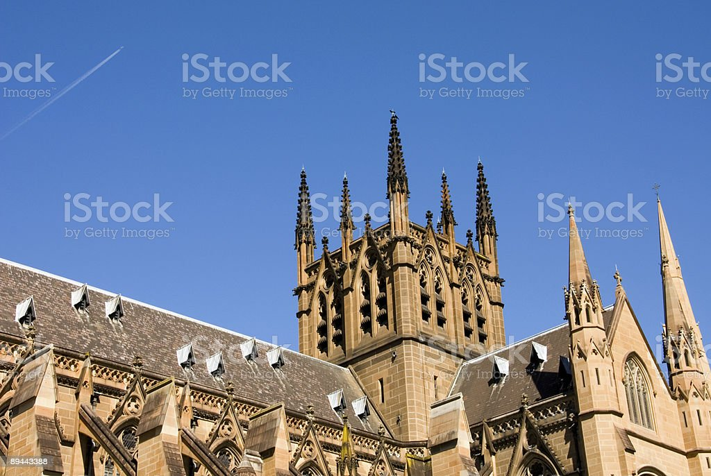 St Mary's Cathedral royalty-free stock photo