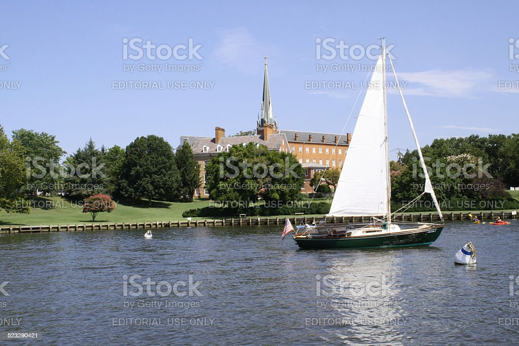 St Mary's Church, Annapolis, Maryland, USA stock photo