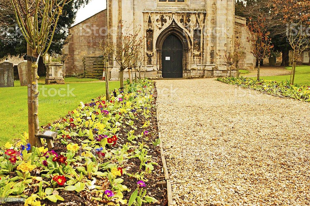 St Mary's Church, Huntingdon Cambridgeshire royalty-free stock photo