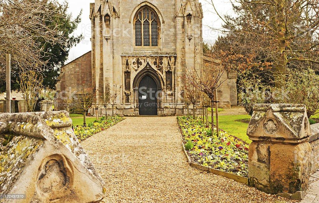 St Mary's Church, Huntingdon Cambridgeshire stock photo
