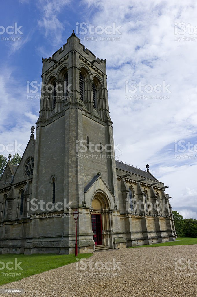St Mary's Church, Woburn, UK royalty-free stock photo