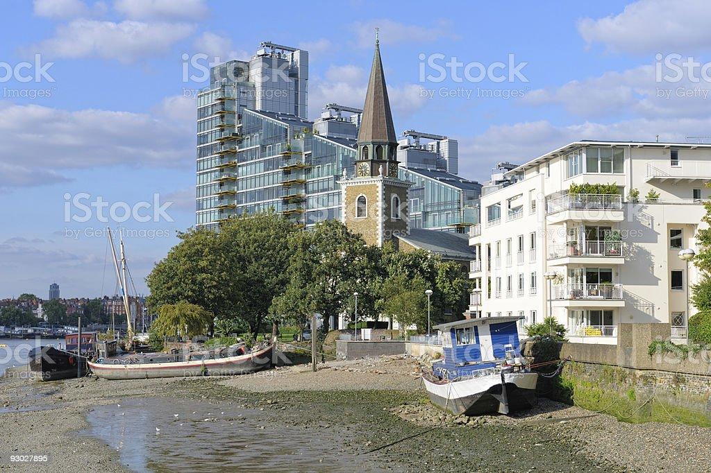 St Marys parish church, Battersea, London, England, UK stock photo