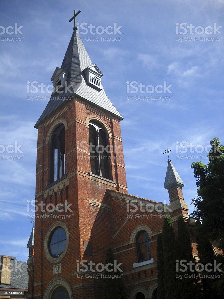 St. Mary's Roman Catholic Church stock photo