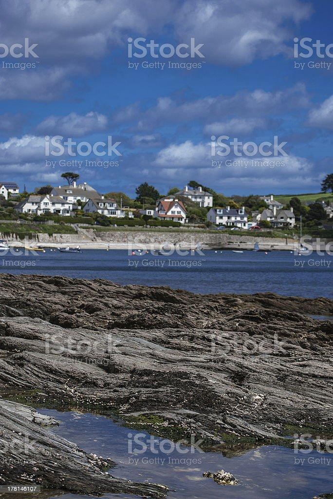 St Mawes, Near Falmouth, Cornwall. stock photo