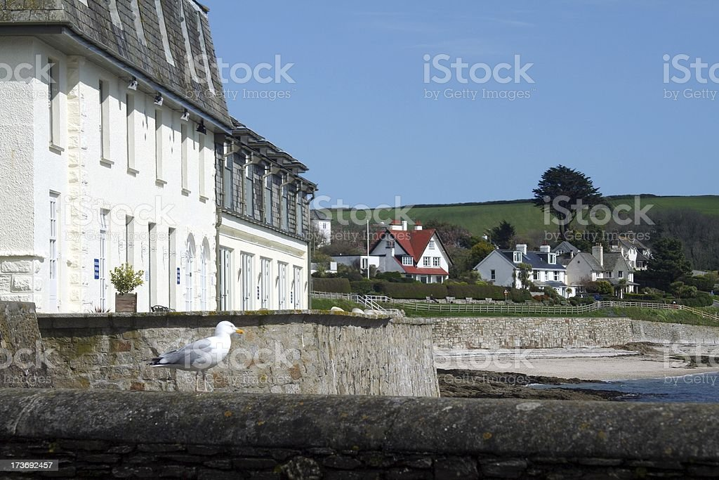 St. Mawes royalty-free stock photo
