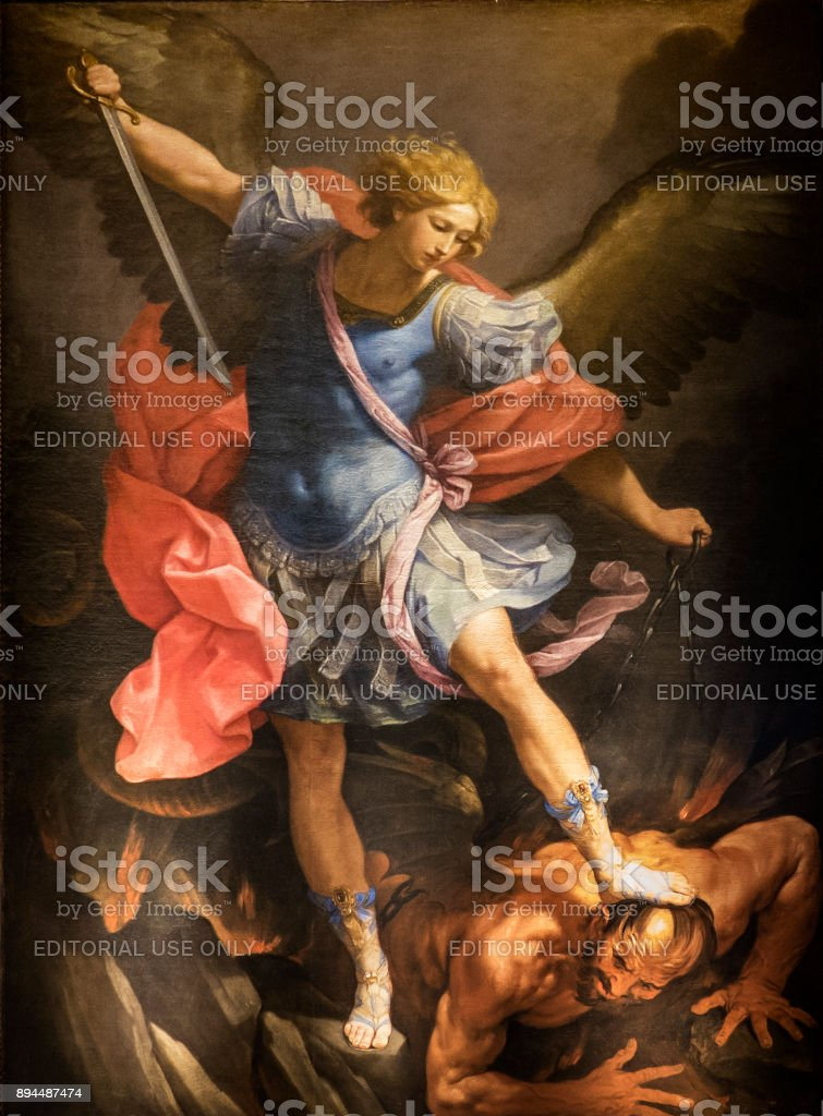 St. Michael Archangel stock photo