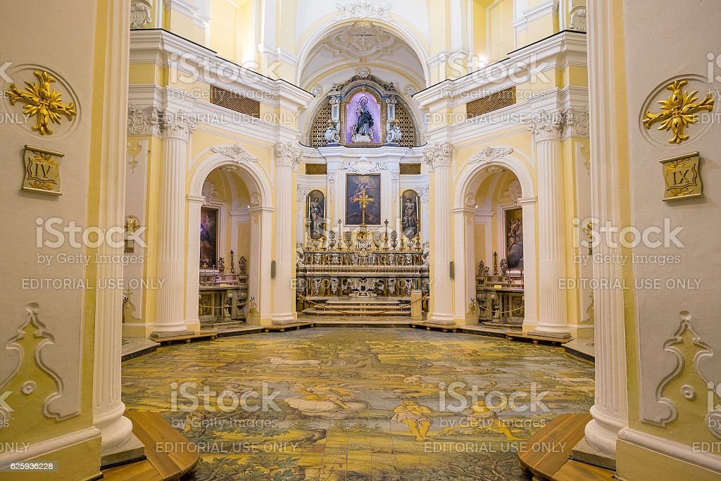Chiesa San Michele Church in Anacapri stock photo