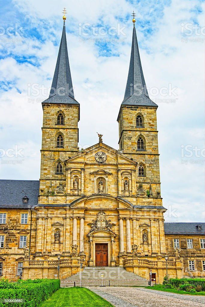St Michael Church in Bamberg in Germany stock photo