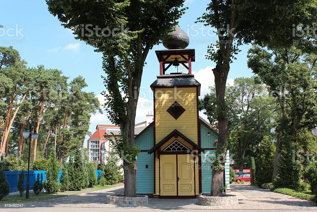 St. Michael Archangel Church, Ciechocinek die – Foto