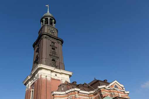 St. Michaelis church in Hamburg, Germany