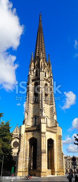 istock St. Michael's Basilica is one of the main Catholic places of worship in the city of Bordeaux, in southwestern France 1180456720
