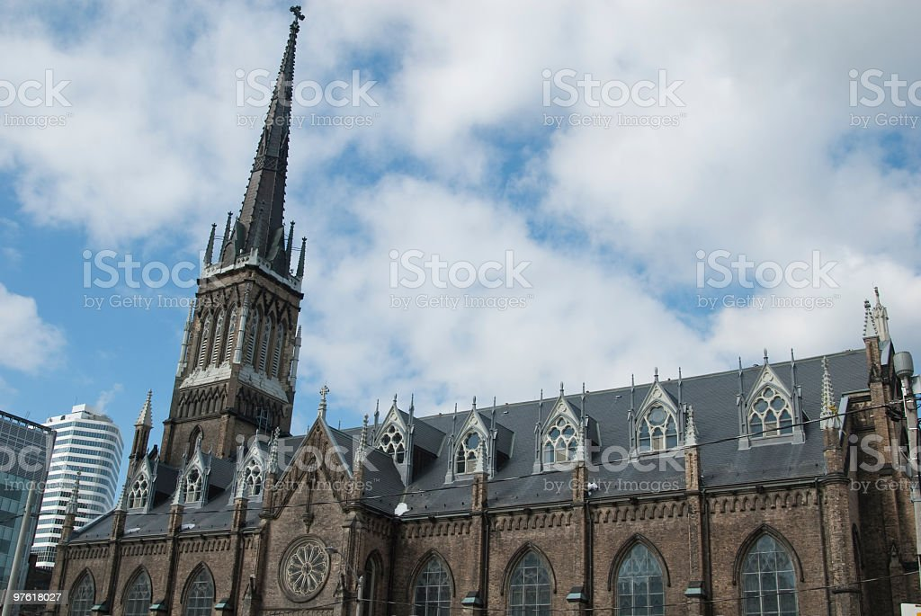St. Michaels Cathedral royaltyfri bildbanksbilder