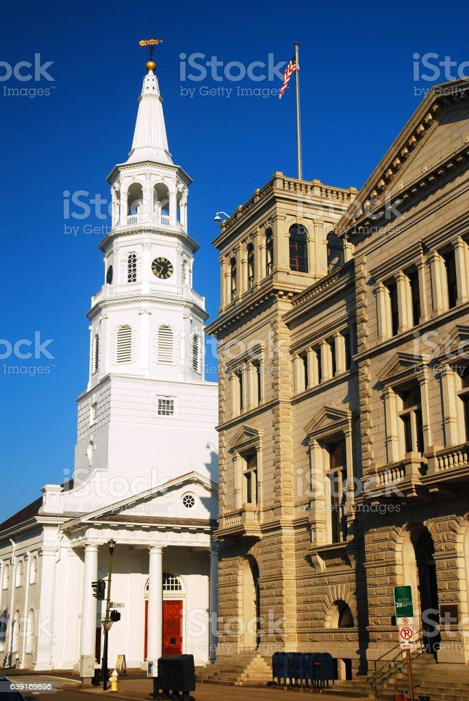 St Michaels, Charleston stock photo