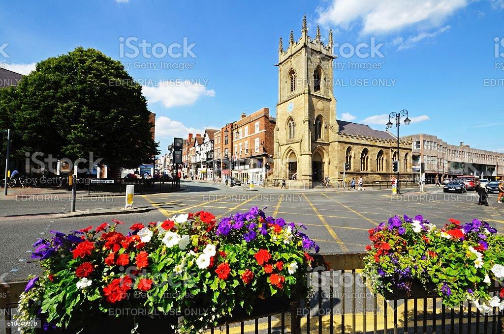 St Michaels Church, Chester. stock photo
