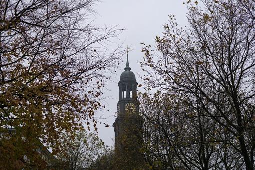 St. Michael's Church. Hamburg.