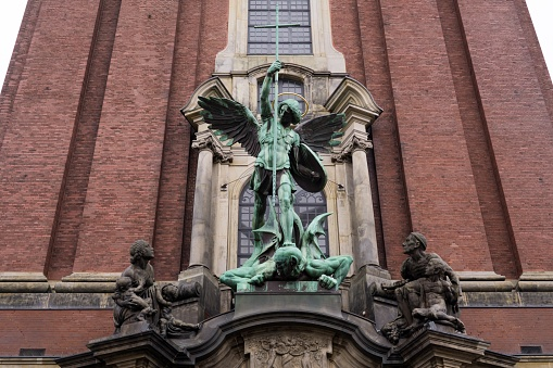 St. Michael's Church. Hamburg.