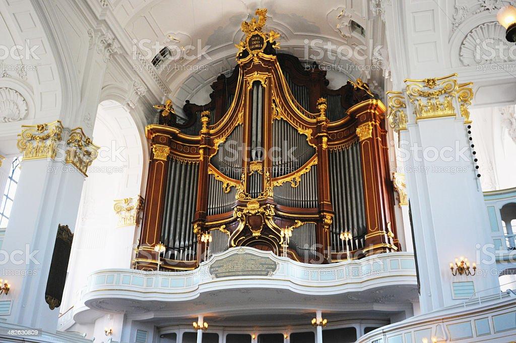 St Michaels Church In Hamburg - Fotografía de stock y más imágenes ...