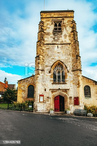 St Michael's Church in the village of Malton in the North Yorkshire region of England.