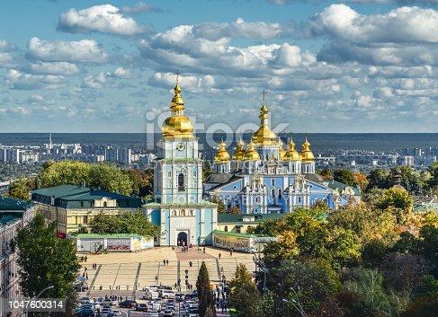 istock St. Michael's Golden-Domed Monastery, Kiev, Ukraine 1047600314