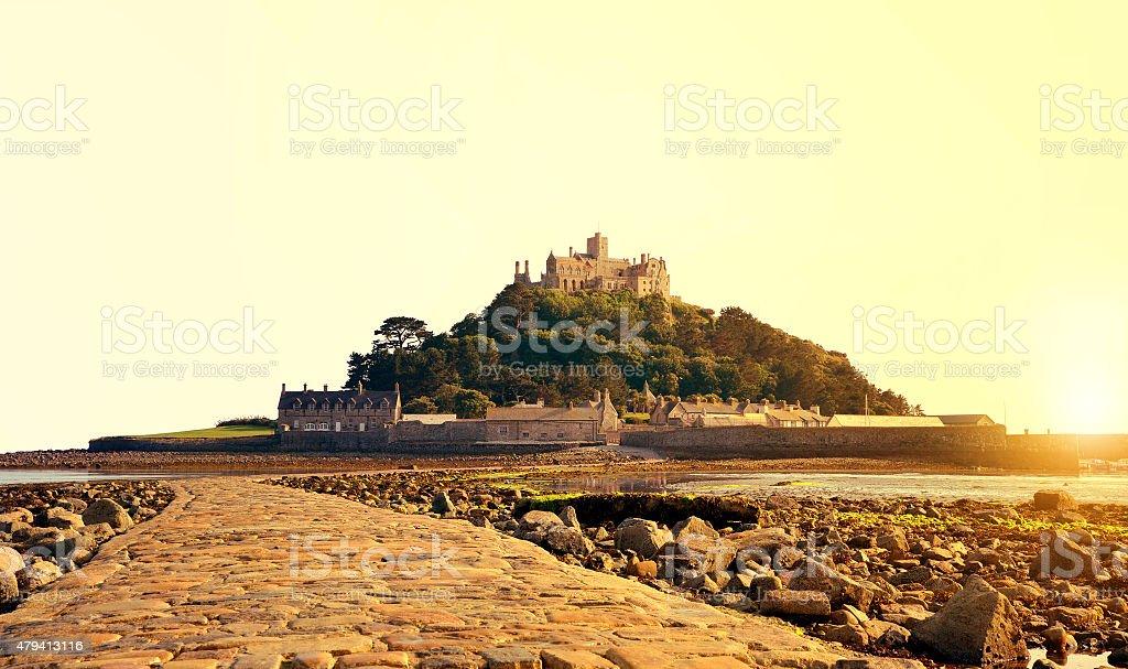 St Michael's Mount - Cornwall, UK stock photo