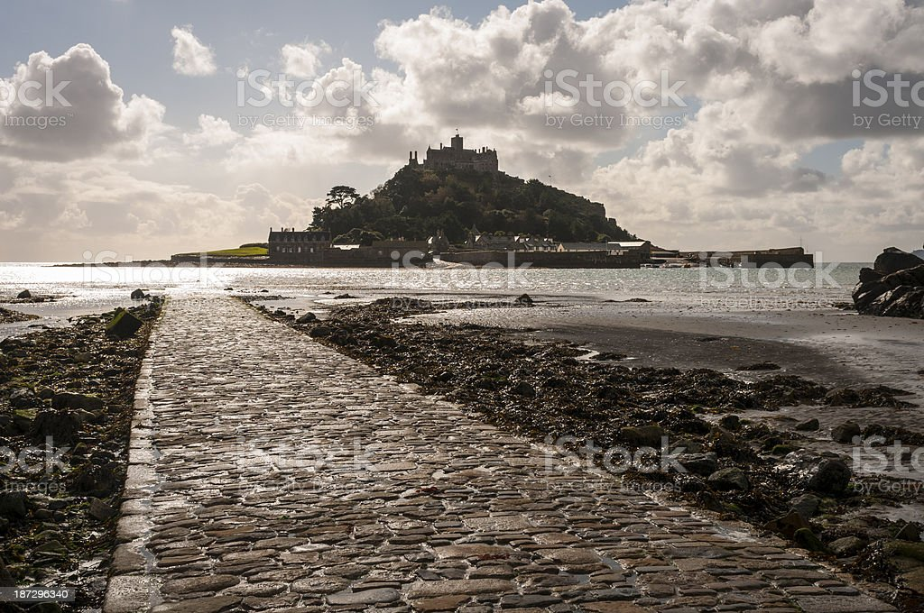 St Michael's Mount In Cornwall, England royalty-free stock photo