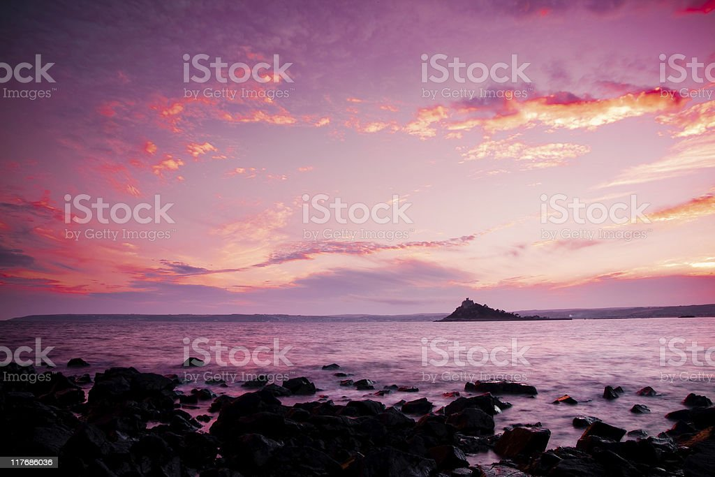 St Michaels Mount royalty-free stock photo