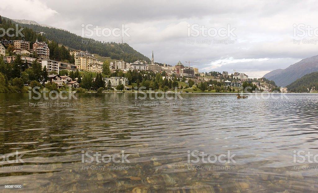 St. Moritz royalty-free stock photo