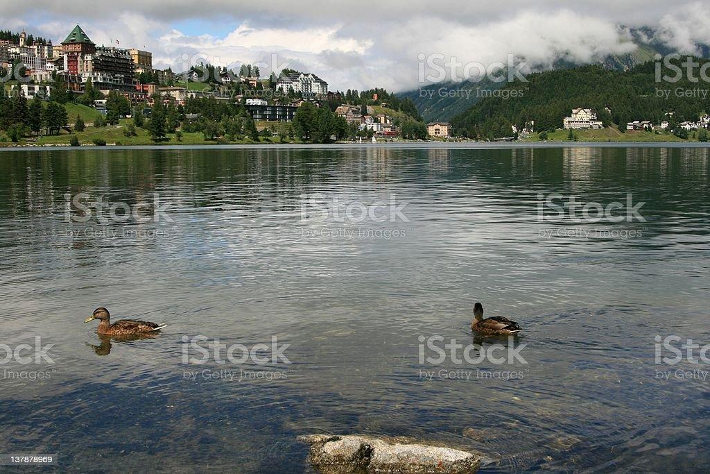 St. Moritz, Switzerland royalty-free stock photo