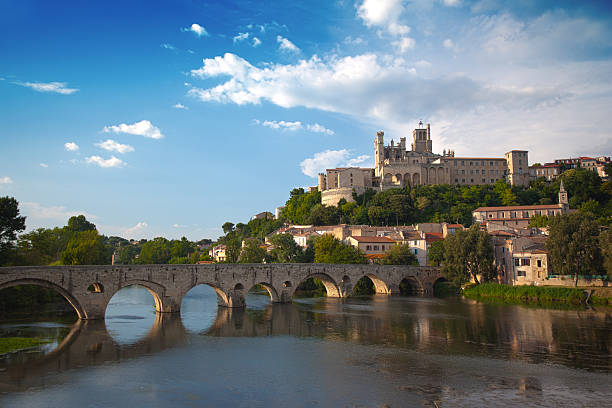 St. Nazaire, Beziers, France stock photo