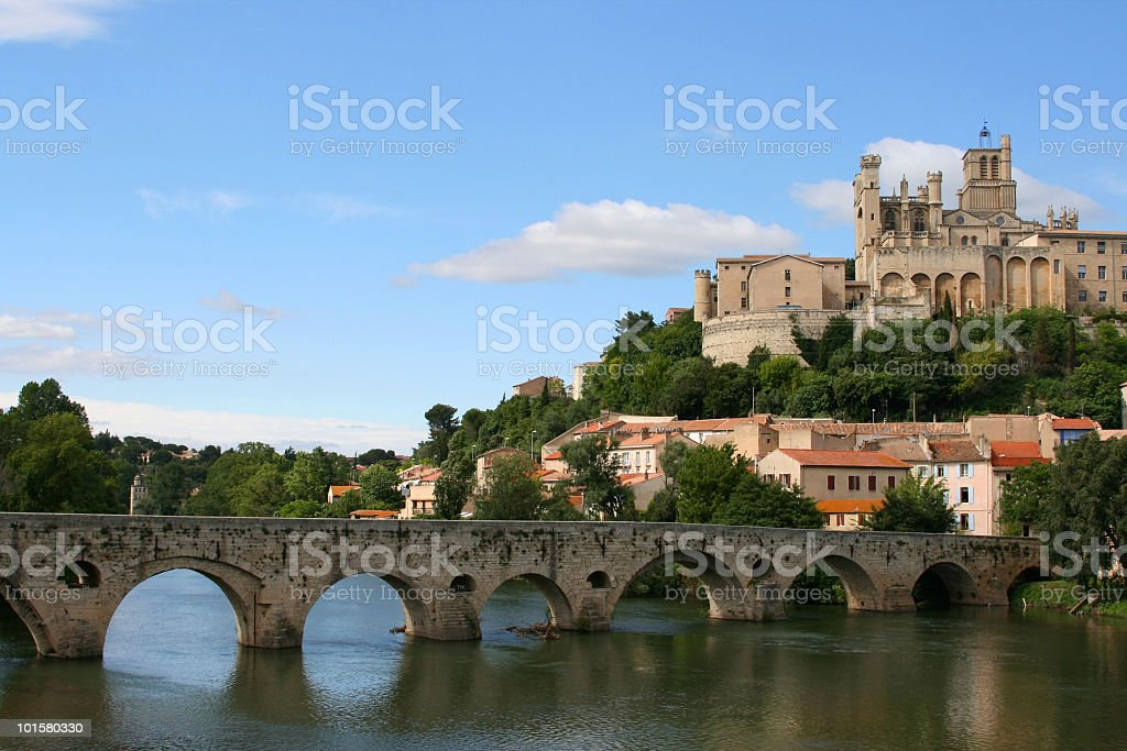 St. Nazaire, Beziers stock photo
