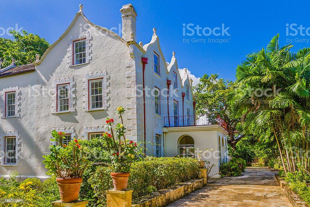 Abadia de St Nicholas, Barbados - foto de acervo