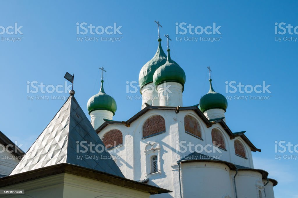 St Nicholas cathedral in Veliky Novgorod, Russia - Royalty-free Architectural Dome Stock Photo