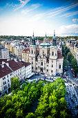 St. Nicholas Church In Prague Old Town, Czech Republic