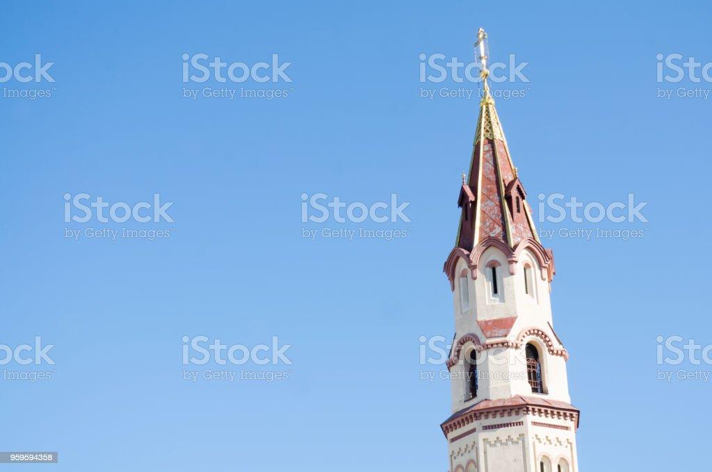 St. Nicholas Church (horizontal) stock photo