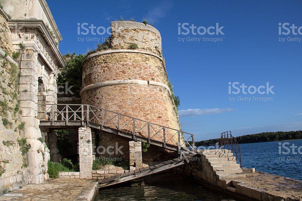 St. Nicholas Fortress stock photo