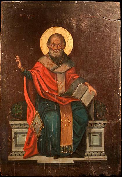 saint nicolas - saint nicolas photos et images de collection