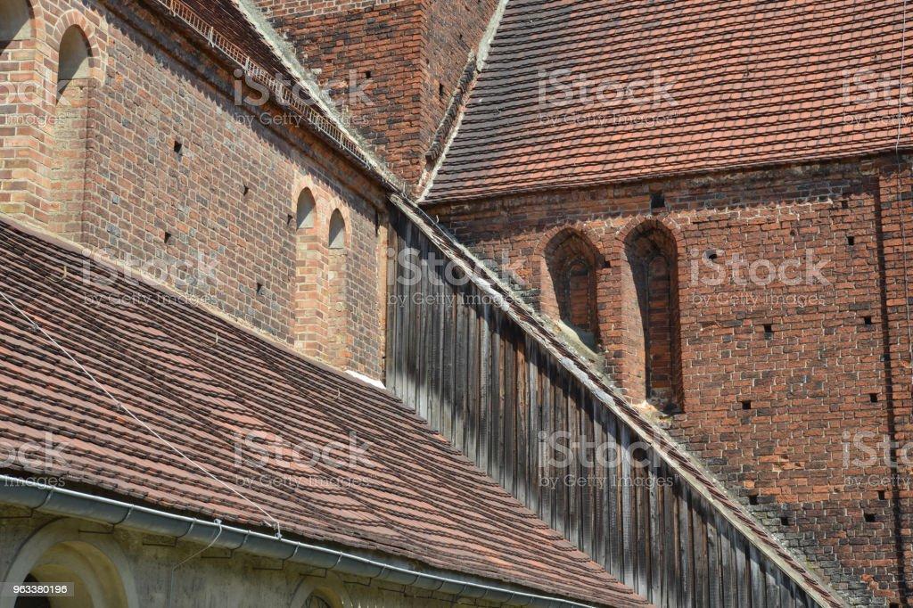 St. Nikolai-Kirche Treuenbrietzen, Brandenburg - Zbiór zdjęć royalty-free (Bez ludzi)