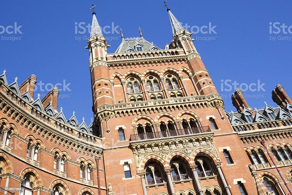 St Pancras in London, England royalty-free stock photo