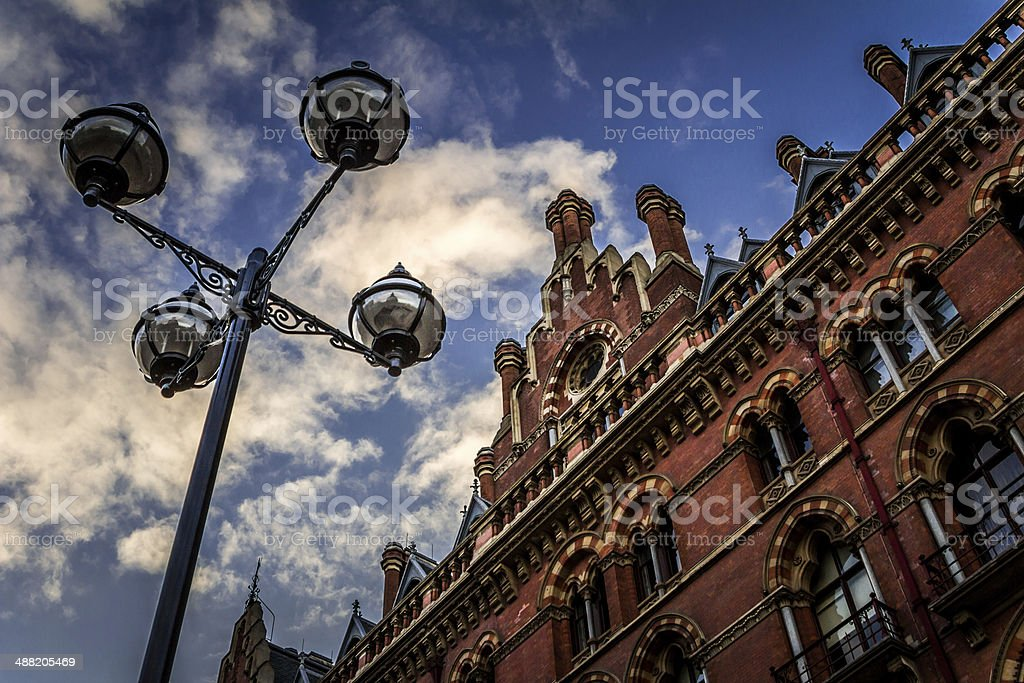 St Pancras International stock photo