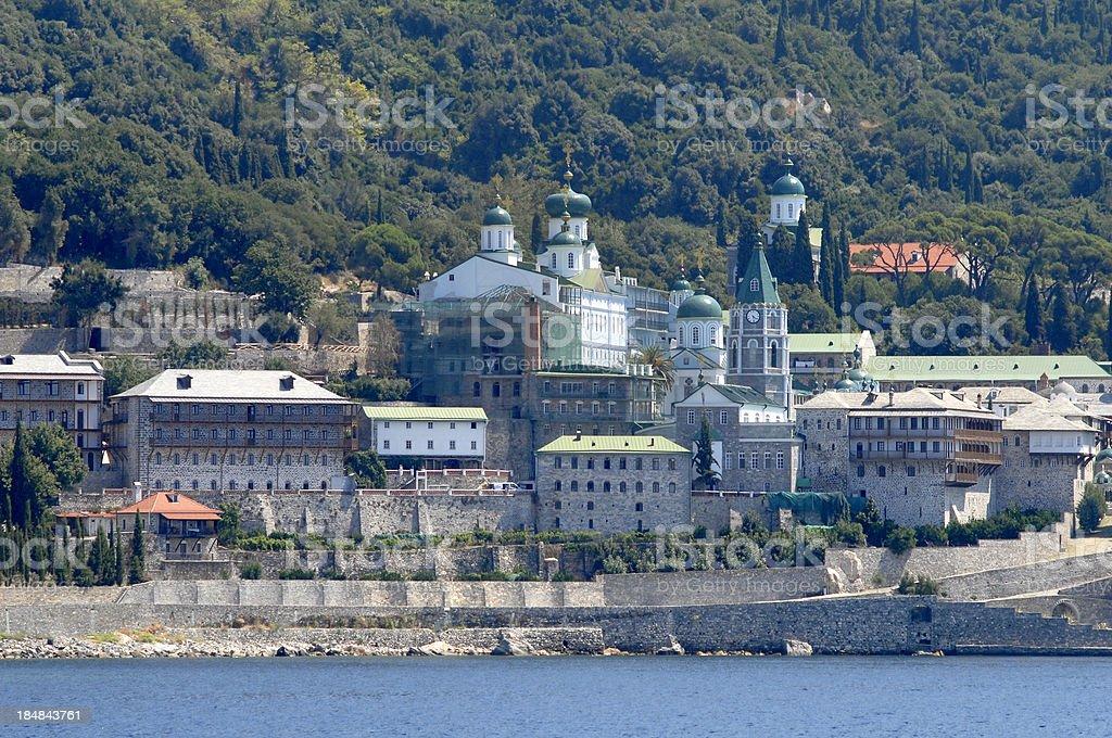 St. Panteleimon Monastery royalty-free stock photo