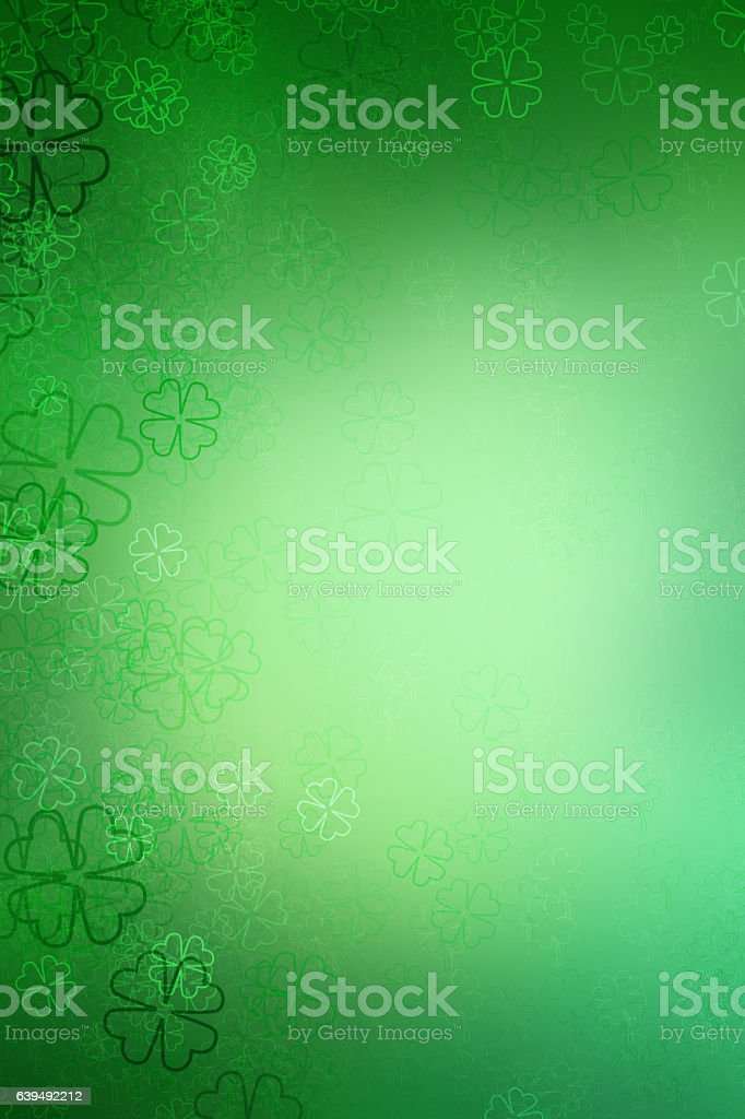St patrick day background abstract stock photo