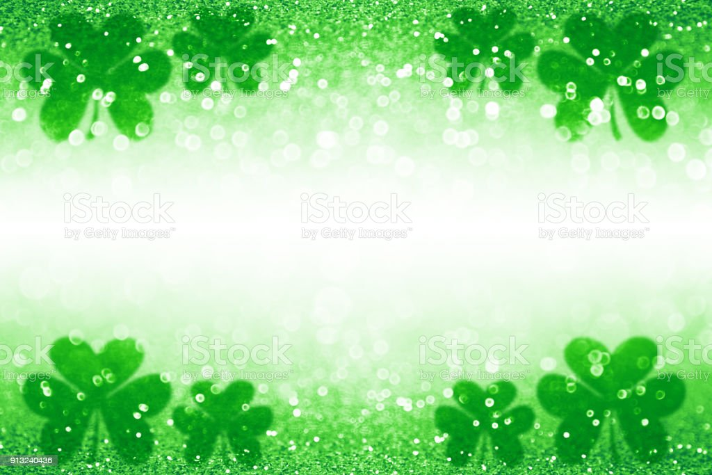 9x6ft Happy St Patricks Day Backdrop Big Green Hat Photography Background Gold Lucky Irish Shamrock Green Four-Leaf Clover Green Children Baby Adults Portraits Photo Studio