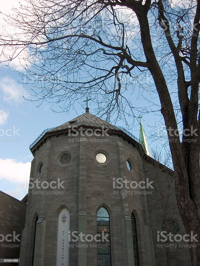 st. patrick's basilica royalty-free stock photo