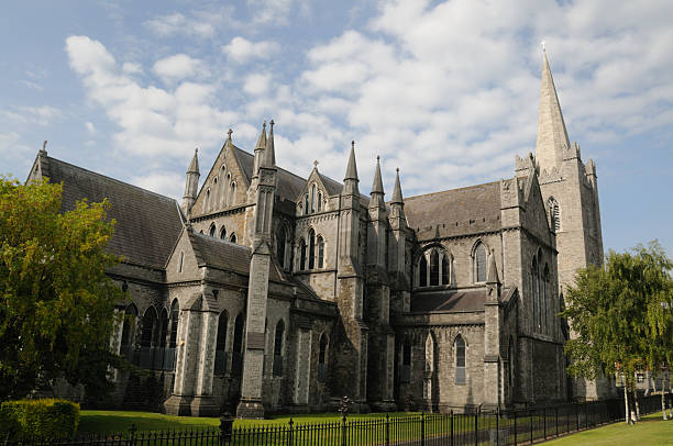 St Patrick's Cathedral, Dublin stock photo