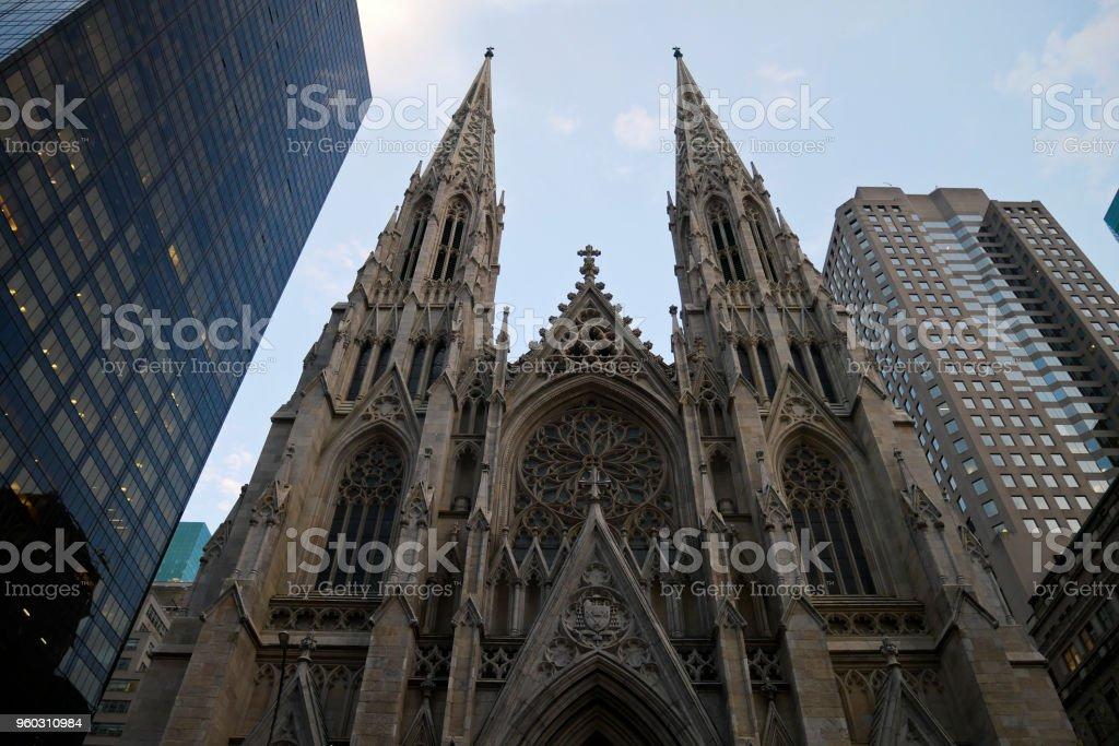St Patricio Catedral En Nueva York Foto De Stock Y Mas Banco De