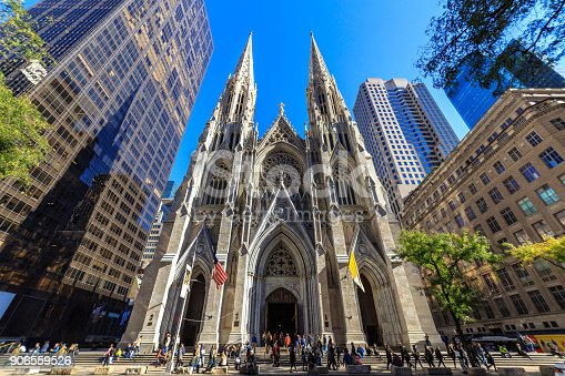 St Patrick's Cathedral Manhattan New York