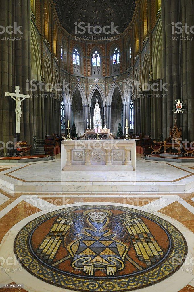 St Patricks Cathedral, Melbourne (XXXL) royalty-free stock photo