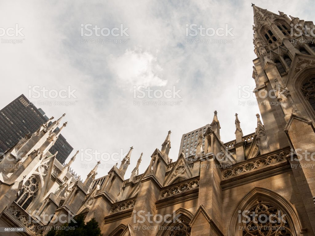St Patrick's Cathedral, New York royalty-free stock photo
